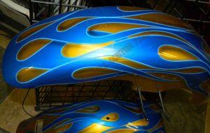 Flames Custom Paint 2276