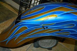 Flames Custom Paint 2277