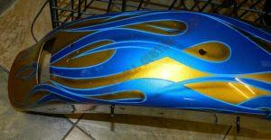 Flames Custom Paint 2278