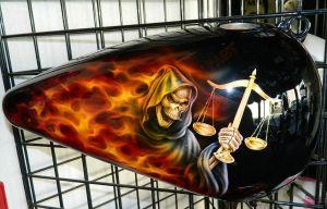 Flames Custom Paint 2280