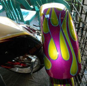 Flames Custom Paint 2287