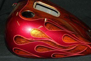 Flames Custom Paint 2304
