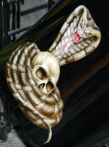 Geiger And Skulls Custom Paint 2446