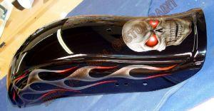 Geiger And Skulls Custom Paint 588