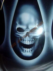 Geiger And Skulls Custom Paint 590