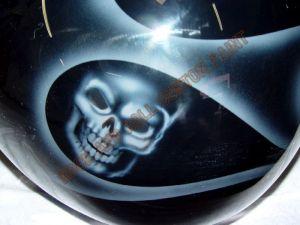 Geiger And Skulls Custom Paint 595