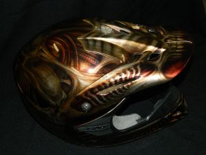 Helmet Custom Paint 2392