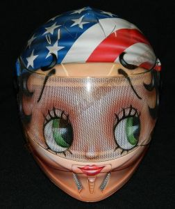 Helmet Custom Paint 2408