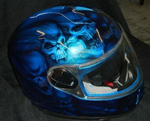 Helmet Custom Paint 2414