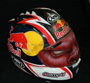 Helmet Custom Paint 2417