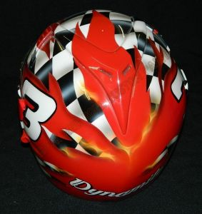 Helmet Custom Paint 2429